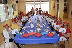 Cloenda del taller de memòria al Casal de la Gent Gran de Montornès Nord