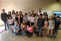 Participants en la 4a edició del Lecxit (Foto: Biblioteca de Montornès)
