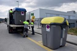 Ubicació dels nous contenidors al Camí de la Justada