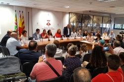 Un moment del Ple de constitució de l'Ajuntament celebrat el 15 de juny