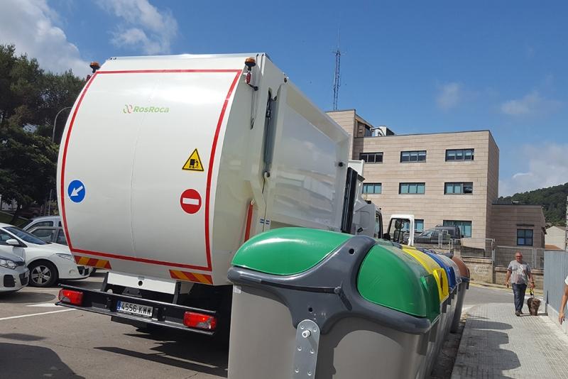 Un dels nous camions de recollida