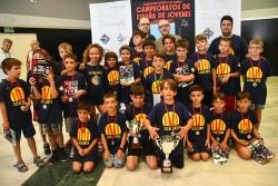 La delegació catalana en els Campionats d'Espanya de Joves 2019 (Font: FEDA)