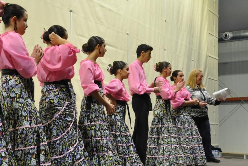 Quadres de ball al Festival d'Hivern de la Hermandad Nuestra Señora del Carmen (2017)