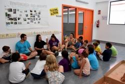 Grup d'infants del Casal d'estiu