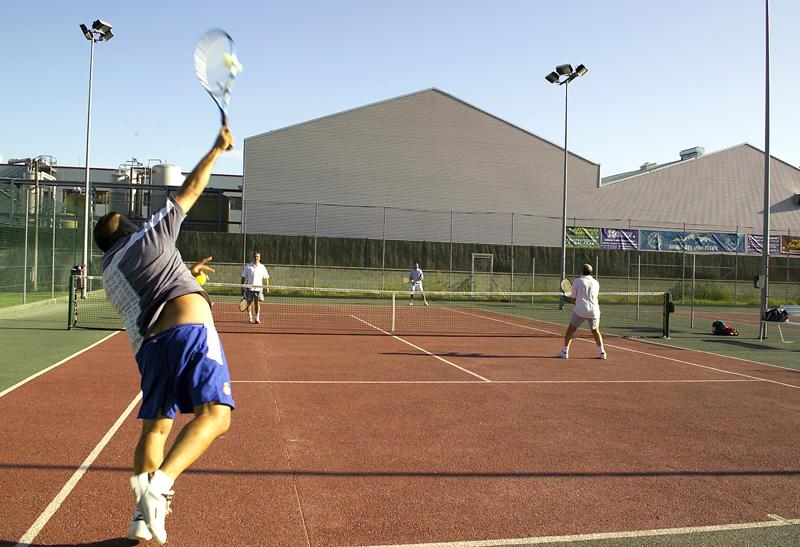 Open de tennis de Festa Major (imatge d'arxiu)