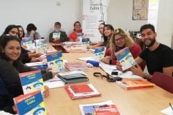 Classe d'un curs de català per a adults (2018-2019)