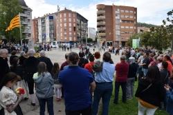 Prop de 350 persones han assistit a l'acte institucional de la Diada a Montornès