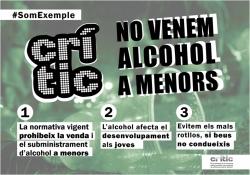 Prohibició de vendre alcohol a menors
