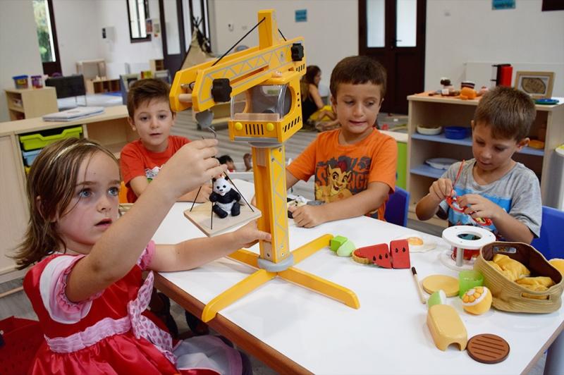 Espai de joc al Centre Infantil Pintor Mir (Casalet - Setembre de 2018)
