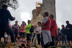 Visita al castell durant les Jornades Europees de Patrimoni 2019