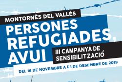 III Campanya de Sensibilització 'Persones Refugiades, Avui'