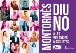 Activitat inclosa en la programació Montornès diu No a les violències masclistes