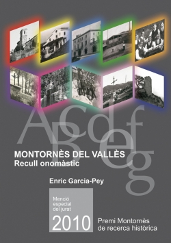 Montornès del Vallès. Recull onomàstic.