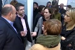 Representants municipals ahir a la seu del Consorci Besòs Tordera (Imatge: Vallès Visió)