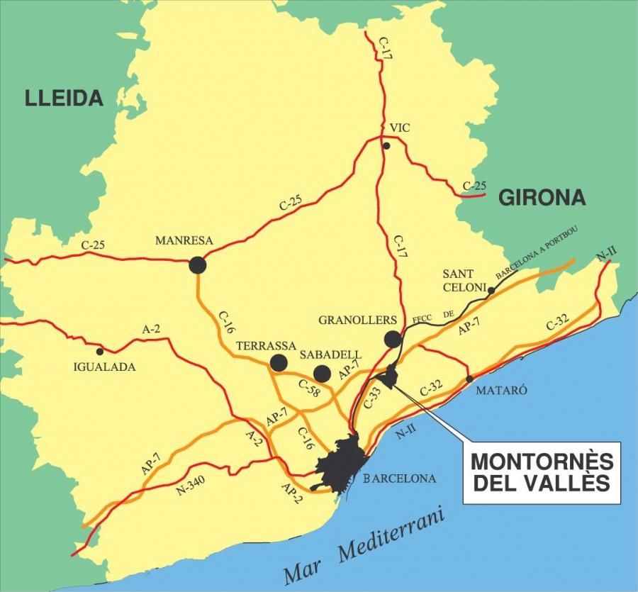 Montornès a Catalunya