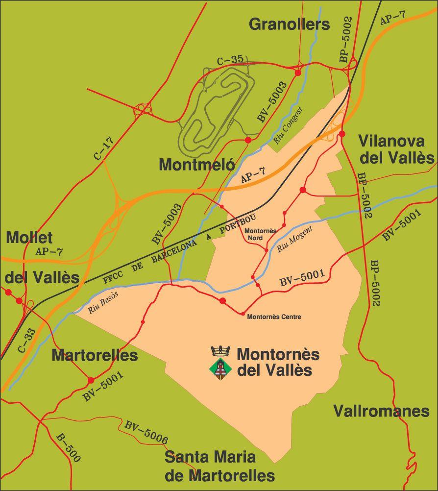 Municipi de Montornès