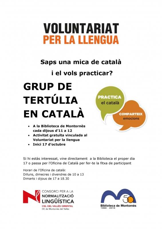 Conversa en català