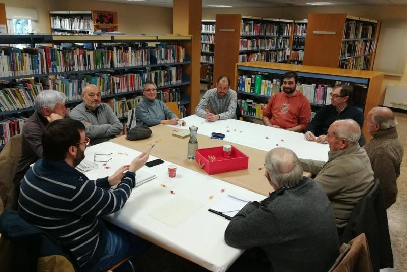 Tertúlia de memòria històrica (Font: Biblioteca de Montornès)