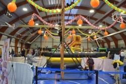 El Parc de Nadal Infantil ha comptat amb un rocòdrom i inflables