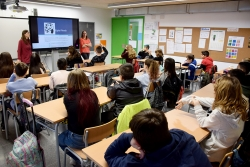 Sessió de treball del projecte CuEmE a l'Escola Palau d'Ametlla