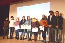 Grup participant en la formació d'emprenedoria social i feminista