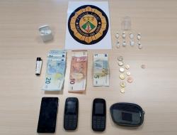 Material intervingut per la Policia Local en el moment de la detenció del dia 20