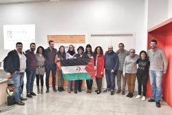 Membres de la CCASPS. El segon per l'esquerre, el regidor de Coorperació Internacional, Sergio Carrillo (Foto: Fons Català de Cooperació)