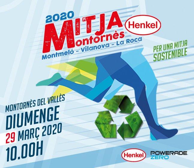 Cartell Mitja Marató 2020