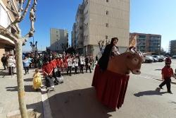 L'Emissari a la rua del Carnaval Infantil