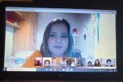 Sessió virtual del Consell d'Infants de Montornès