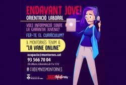Imatge promocional del projecte Endavant Jove!