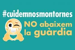 """Imatge de la campanya """"No abaixem la guàrdia"""""""