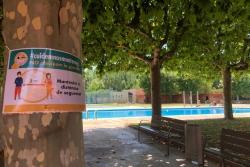 Les piscines d'estiu preparades per obrir divendres