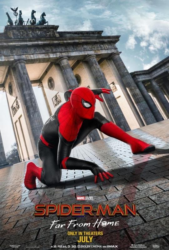 Spider-man: lejos de casa (Font: Filmaffinity)