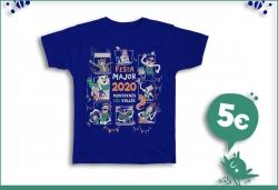 La samarreta de la Festa Major 2020, amb disseny de l'il·lustrador local Edu Valls