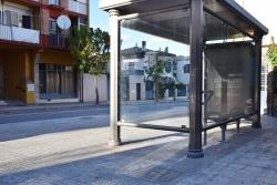 Parada de bus a Montornès (imatge d'arxiu)