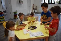Activitat al Centre Infantil Pintor Mir (imatge d'arxiu)