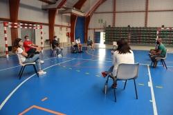 Reunió amb les entitats esportives a la Carpa Polivalent El Sorralet.