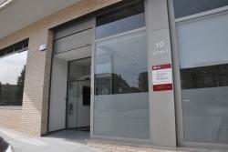 Oficina de l'ORGT situada al carrer de la Pau, 10