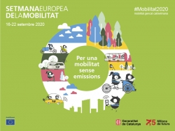 Imatge gràfica de la Setmana Europea de la Mobilitat 2020