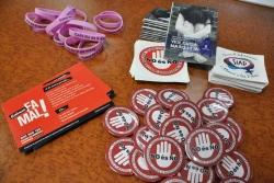 Materials divulgatius de campanyes que ha engegat la regidoria de Polítiques d'Igualtat