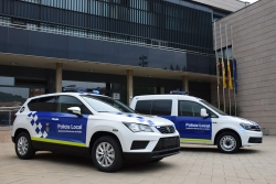 Nous vehicles de la Policia Local de Montornès