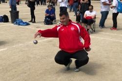 Sebastián Pérez en plena competició (imatge: Sebastián Pérez)