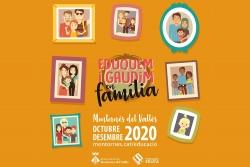 Imatge de la programació Eduquem i gaudim en família Octubre - Desembre 2020