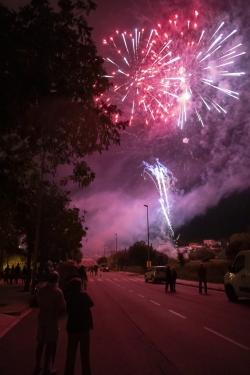 21/09/2020 - Castell de focs d'artifici patrocinat per LUCTA