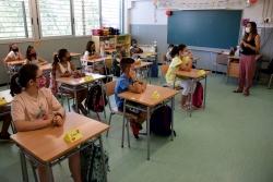 Distància de seguretat dins les aules
