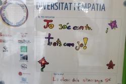 Cartell de l'Escola Palau d'Ametlla