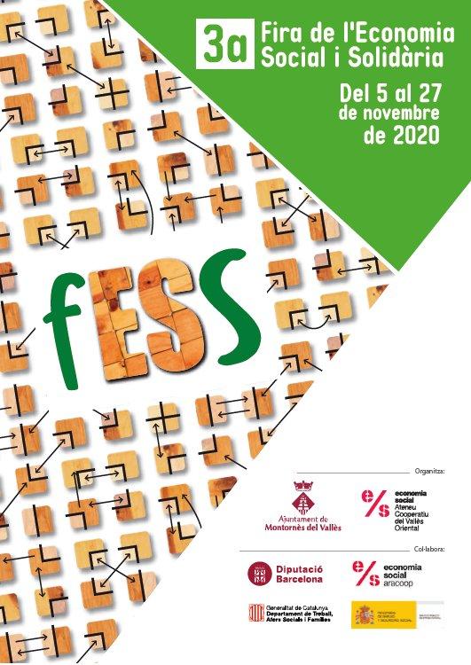 Cartell de la 3a Fira de l'Economia Social i Solidària de Montornès