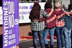 Un moment de l'acte institucional del Dia Internacional per a l'Eliminació de la Violència envers les Dones de l'any passat