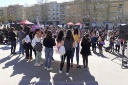 Activitats pel 8M a la plaça de Pau Picasso